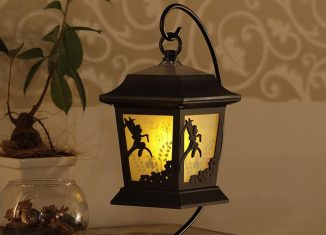 Lampe solaire silhouette Disney