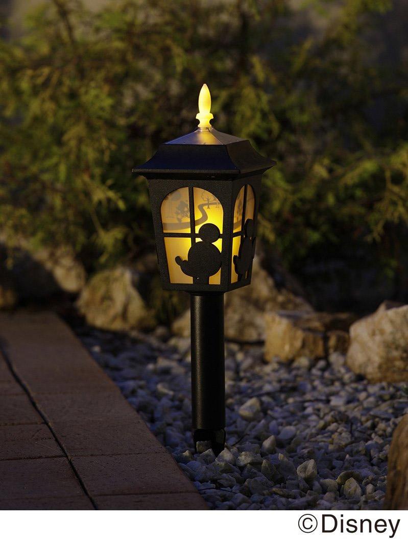 Lampe solaire silhouette Disney