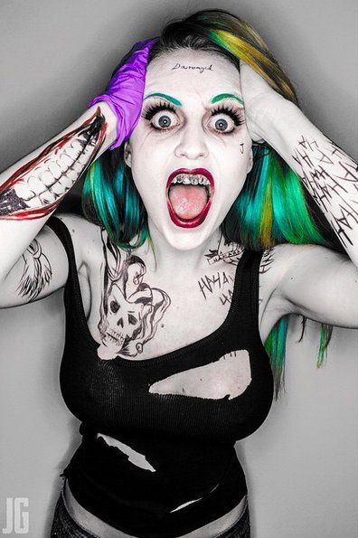Cosplay Harley Quinn Suicide Squad