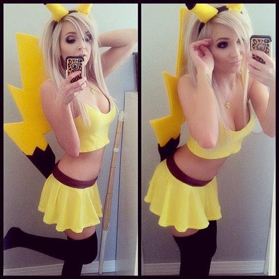 Cosplay Pikachu Sexy