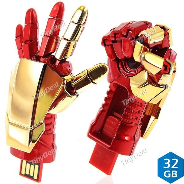 Clé USB main Iron Man