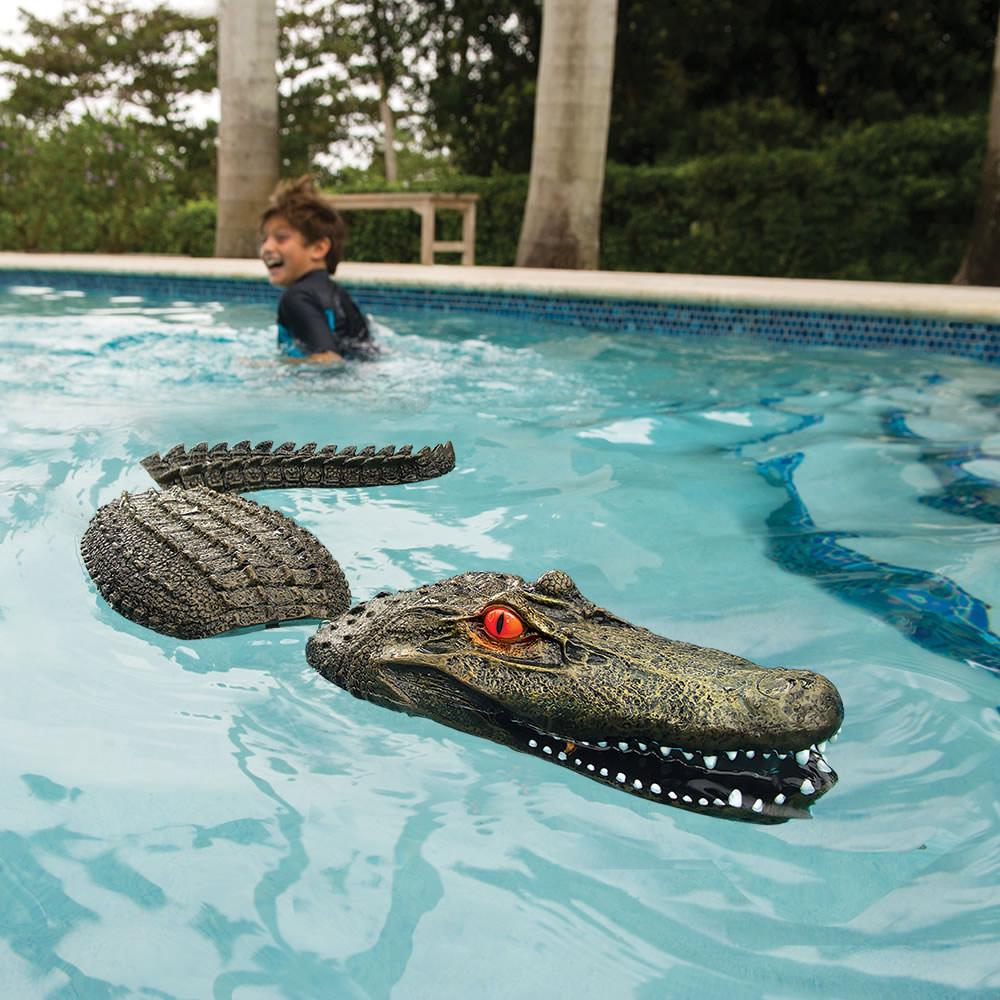 Alligator gonflable pour piscine geek for Acheter piscine gonflable
