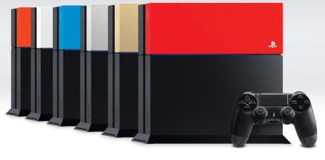 Changer la façade de sa PS4