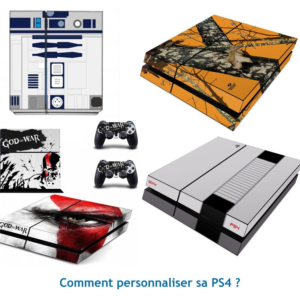 Personnaliser sa PS4