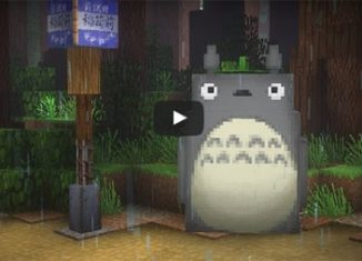 Mon voisin Totoro version Minecraft