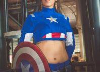 Cosplay Captain America Comic COn Paris 2016