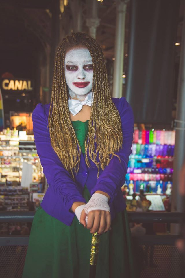 Joker Cosplay Comic Con 2016
