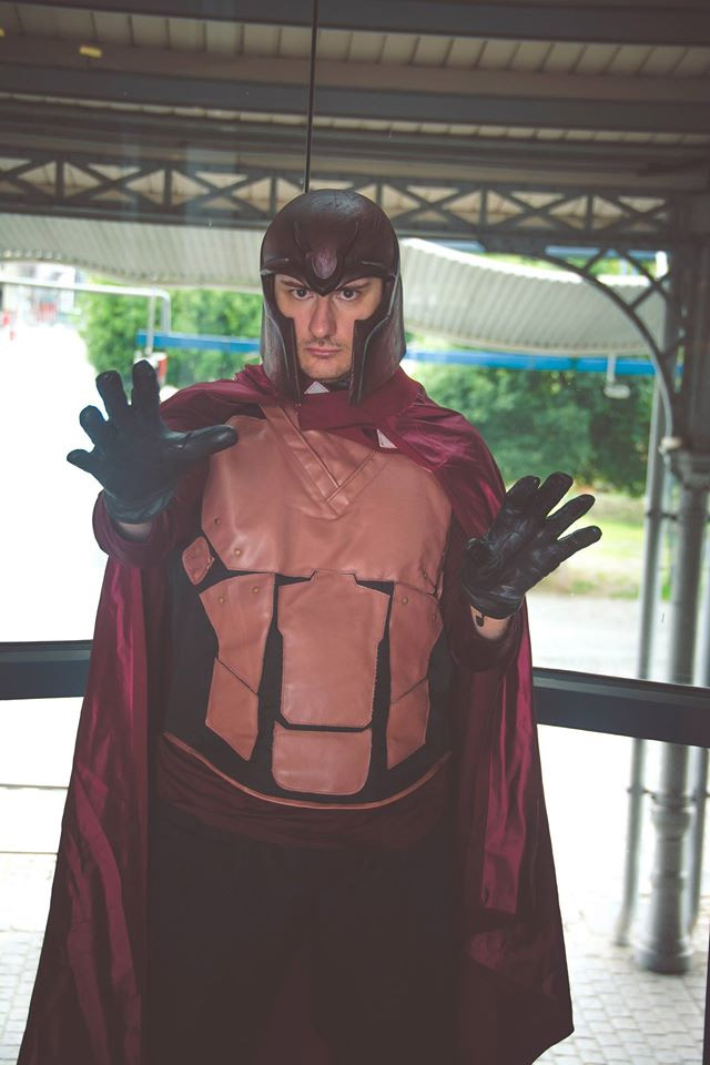 Magneto Cosplay Comic Con 2016