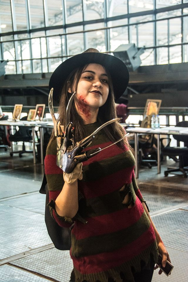 Freddy Krueger Cosplay Comic Con 2016