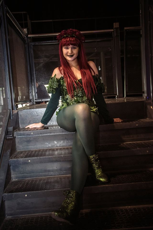 Poison Ivy Cosplay Comic Con 2016