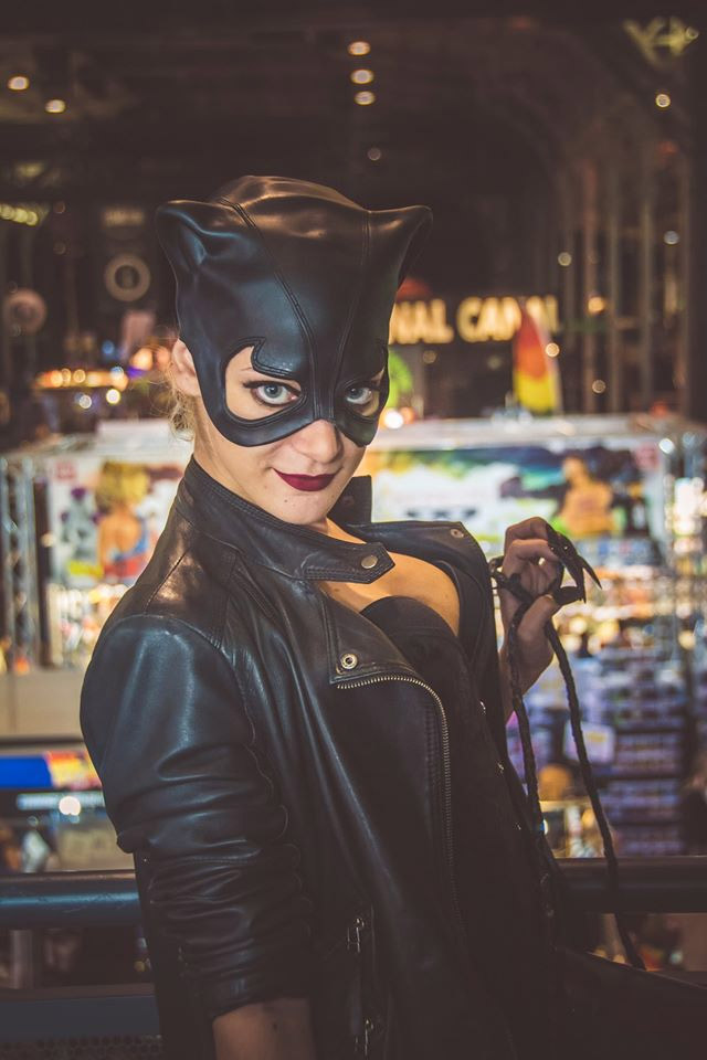 Catwoman Cosplay Comic Con 2016