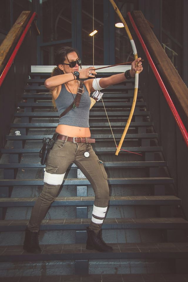 Lara Croft Cosplay Comic Con 2016