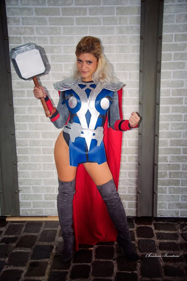 Thor Cosplay Comic Con 2016