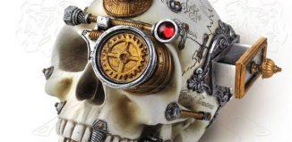 Tête de mort Steampunk