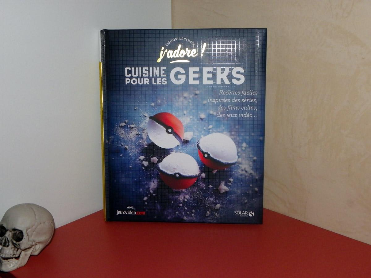 Livre la cuisine pour les geeks
