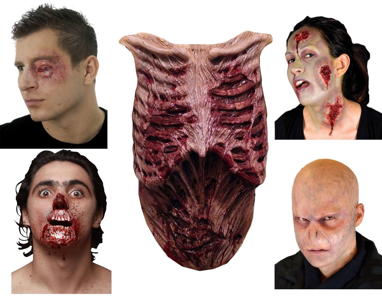 Le masque pour la personne des aloès de la préparation