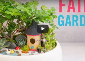 Tuto pour créer un jardin féérique