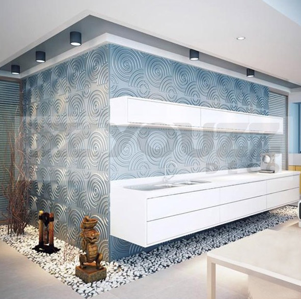 panneau mural 3d pas cher geek idee deco. Black Bedroom Furniture Sets. Home Design Ideas