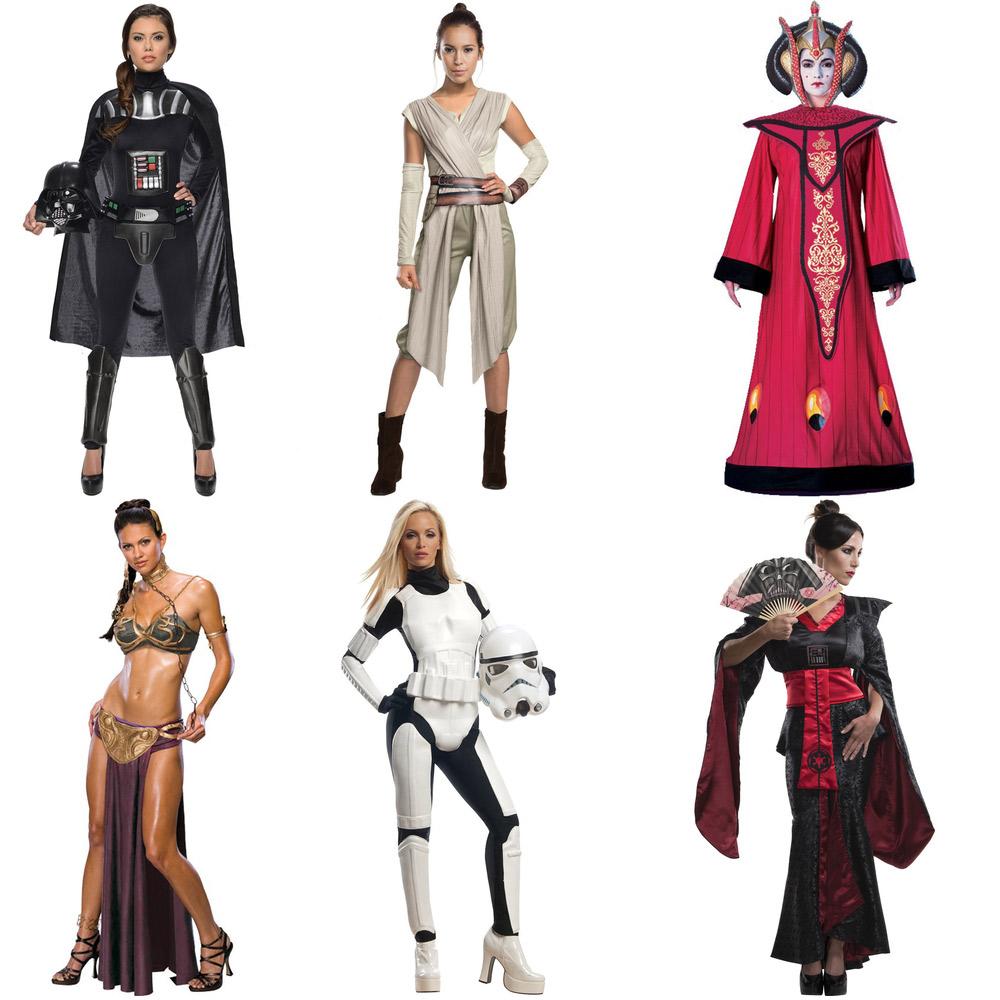 Des tenues Star Wars pour femme