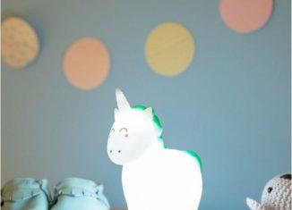 Veilleuse magique licorne