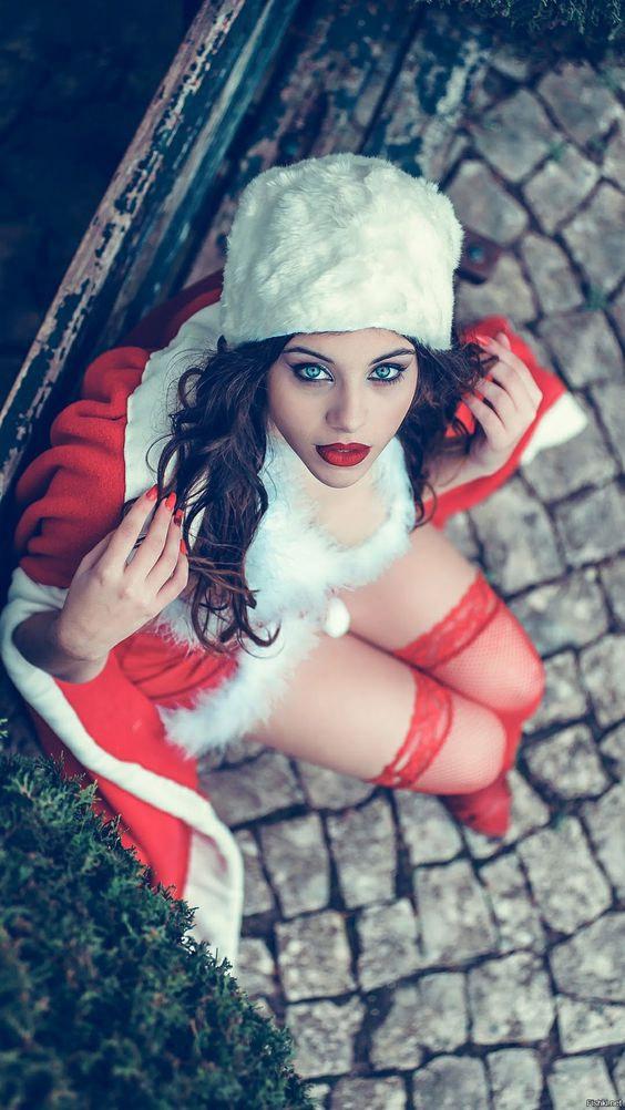 Cosplay sexy de la MCosplay sexy de la Mère Noël #santa #christmas #sexyère Noël #990