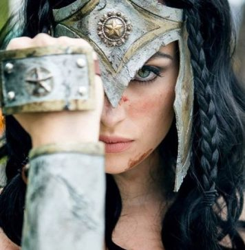 Cosplay de Wonder Woman #989