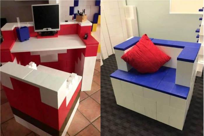 bureau et fauteuil everblock png