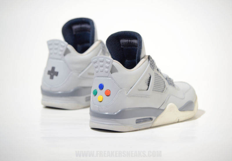 sneakers air jordan 4 nintendo nes
