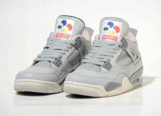 Air Jordan 4 Super NES Sneakers