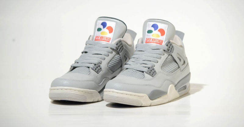 Air Jordan 4 Super NES Sneakers