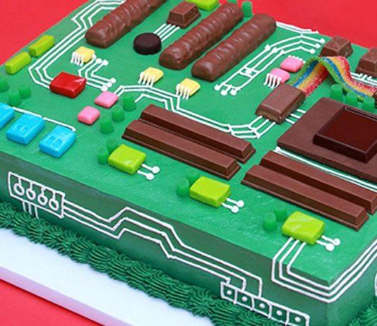Gâteau carte mère