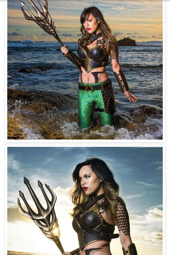 Cosplay sexy Aquaman #998