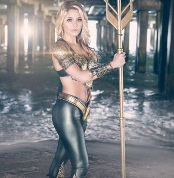 Cosplay sexy Aquaman #998