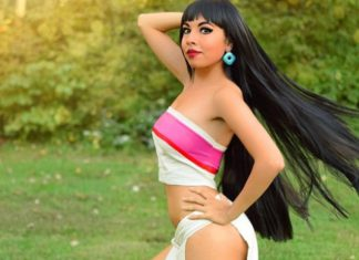 Chel cosplay sexy
