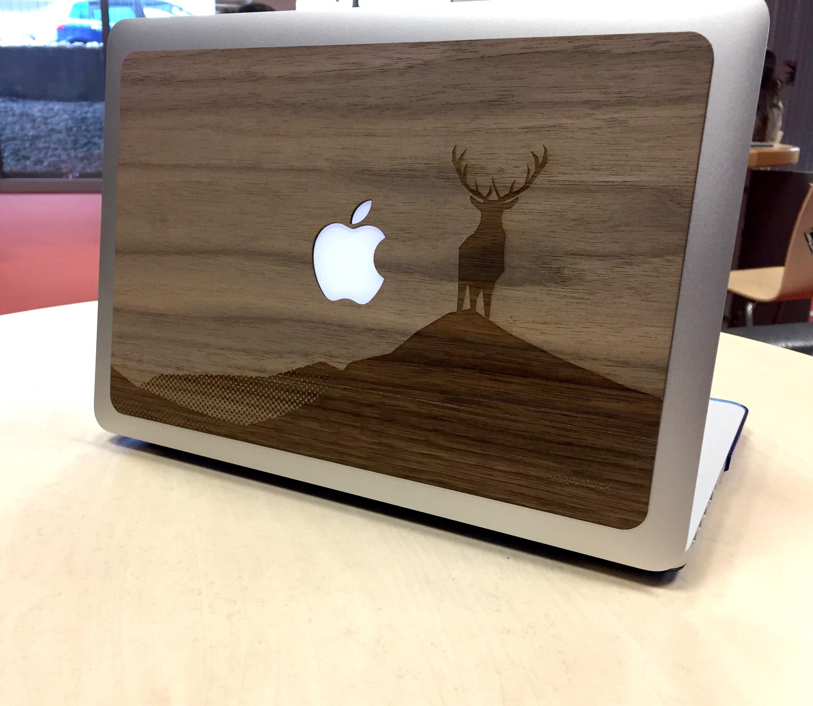 coque bois design woodstuck