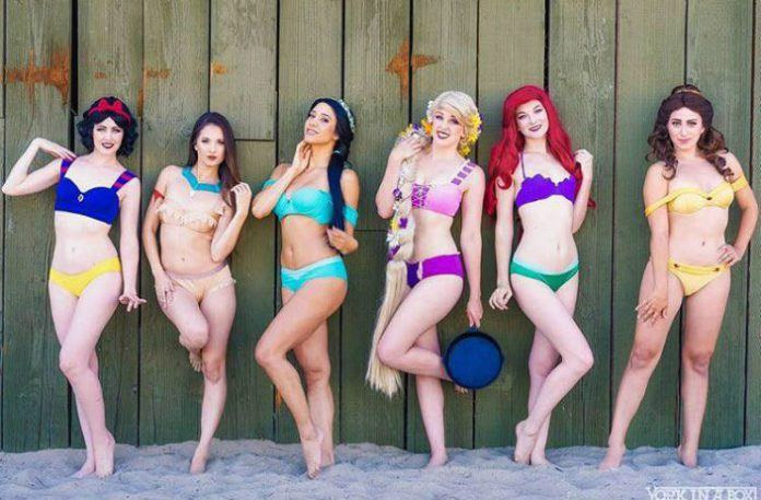 Acheter des bikinis princesses Disney