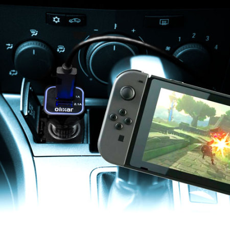 Chargeur Voiture Nintendo Switch Olixar High Power