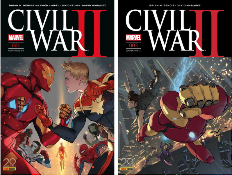 civil war II marvel comics