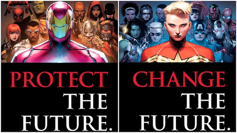 Marvel comics civil war II choisi ton camp