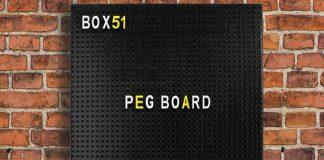 Panneau Peg Board