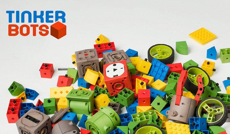 tinkerbots robot en kit éducatif