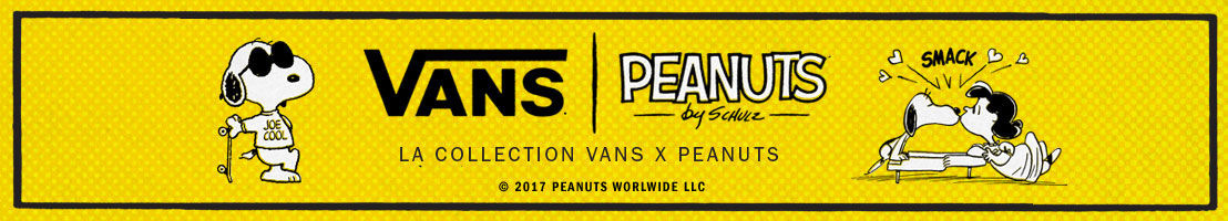 collection vans x peanuts