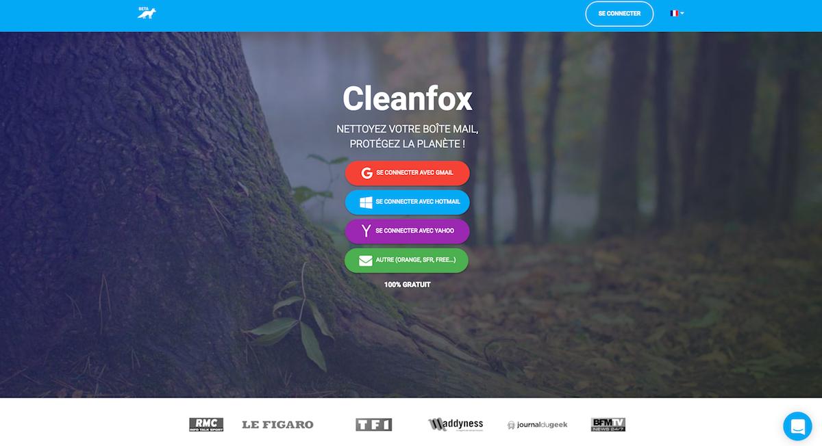 accueil cleanfox