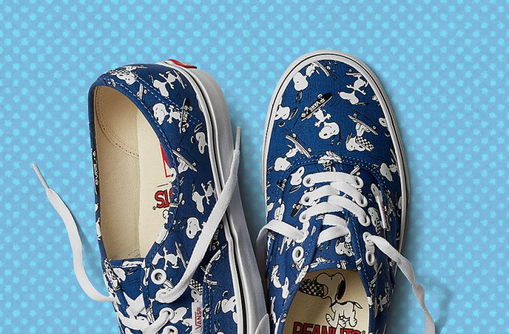 vans x peanuts chaussures