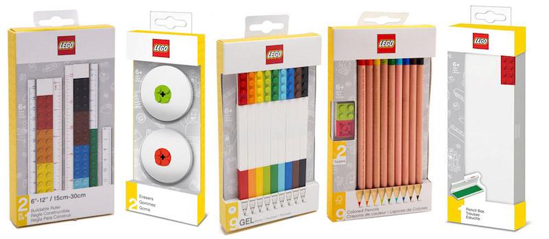 Rentrée scolaire fournitures LEGO
