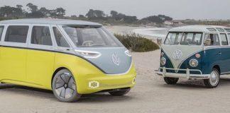 concept électrique I D Buzz volkswagen