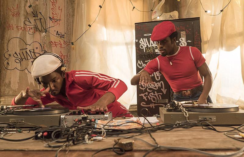 série hip hop netflix the get down