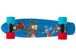 penny skateboard simpson