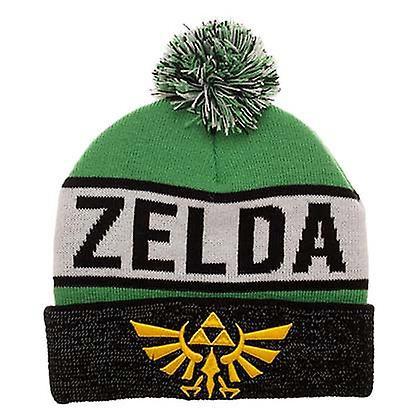 bonnet Zelda avec pompon