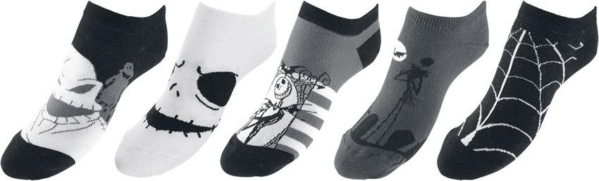 Les chaussettes en noir et blanc